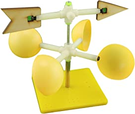TOYMYTOY Wind Vane DIY Assembly Model Kids Funny Scientific Experiment Toy Educational Toys