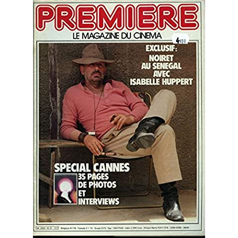 PREMIERE N°51 Magazine - 1981 - Philippe