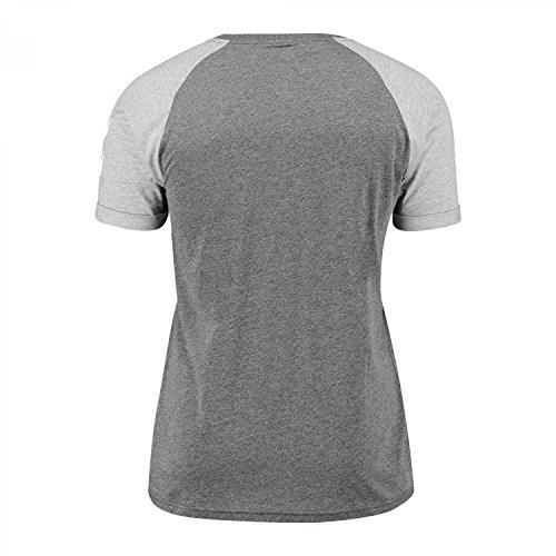 Hummel Herren T-Shirt Green SS Tee 09783 Dark Grey Melange