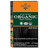 Indus Valley Hair Color Black/150 gram (Pack of 1)