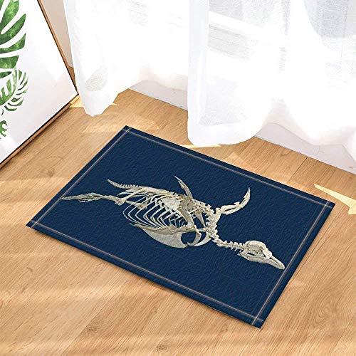 JYRSTSEHT Kiel Blau Hintergrund 3D Hd Kreative Druckmatte, Weich Und Bequem Polyestergewebe, 40 × 60 cm rutschfeste Heimtextilien Matte