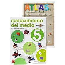 Conocimiento del medio. 5 Primaria. Timonel. Comunidad de Madrid - 9788467532517