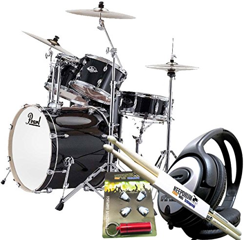 pearl-export-exx725z-c31-black-including-cymbals-and-keepdrum-ear-protection-with-headphones-and-dru