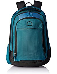 Delsey Capetown 25 Ltrs Blue Black Backpak (00300460000)
