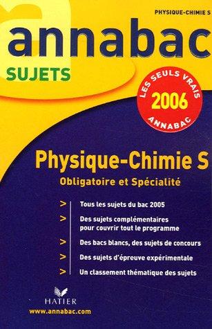 Physique-Chimie S : Enseignement obligatoire et de spécialité