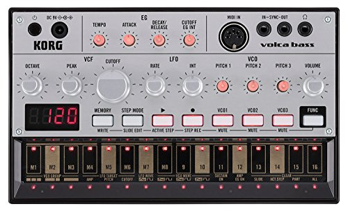 Korg Volca Bass sequencer synth analogico compatto per basso