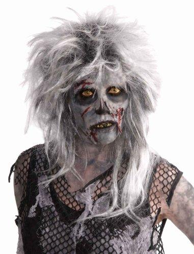 Halloween Karneval Horror Perücke Rocker Zombie Leiche (Rock Star Zombie)