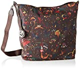 piero guidi Hobo Bag Reversible, Borsa a Spalla Donna, Marrone (Caffe'), 32.0x35.0x13.0 cm (W x H x L)