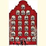 Nostalgisches Weihnachtshaus (Adventskalender)