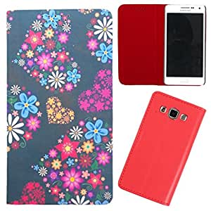DooDa - For Samsung Galaxy E7 PU Leather Designer Fashionable Fancy Case Cover Pouch With Smooth Inner Velvet