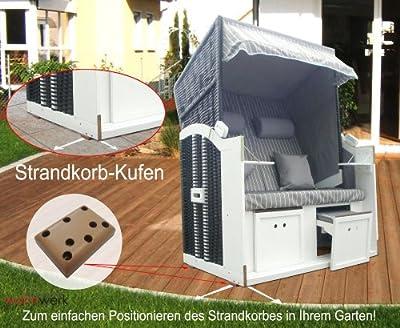 Strandkorb Kufen von das wohnwerk GmbH - Gartenmöbel von Du und Dein Garten