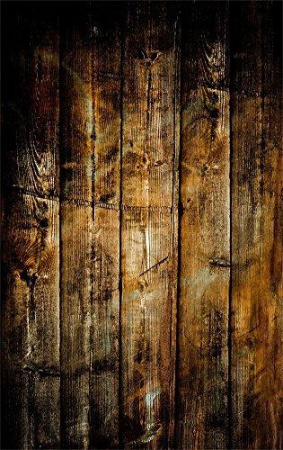 YongFoto 1x1,5m Vinyl Foto Hintergrund Holzboden Grunge Holz Distressed Shabby Chic HolzHolz Bretter Fotografie Hintergrund für Photo Booth Baby Party Banner Kinder Fotostudio Requisiten