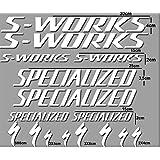 PEGATINAS SWORKS BICI R84 STICKERS AUFKLEBER DECALS AUTOCOLLANTS ADESIVI (BLANCO)