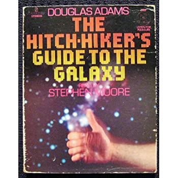 stephen more reads the hitchikers guide to galaxy by douglas adams audiobook cassette