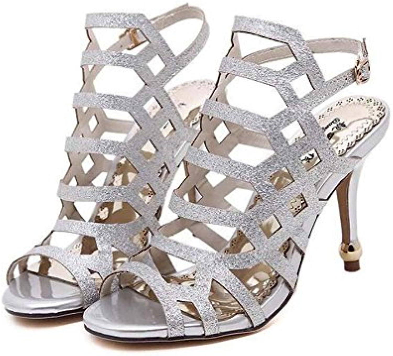 Pompa 10 centimetri Stiletto Scarpin sandalo sandalo sandalo Scarpe da sposa Scarpe da sera Donne affascinante Peep Toe Cavo Cinturino...   Specifica completa    Scolaro/Ragazze Scarpa  d3505d