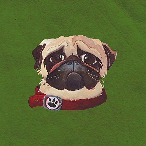 Apple iPhone SE Case Skin Sticker aus Vinyl-Folie Aufkleber Mops Hund Zeichnung DesignSkins® glänzend