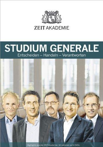 ZEIT Akademie Studium Generale, 4 DVDs + Begleitbuch