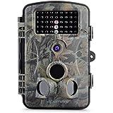 """APEMAN Wildkamera 12MP 1080P Full HD Jagdkamera 120°Breite Vision Infrarote 20m Nachtsicht 2.4"""" LCD Überwachungskamera"""