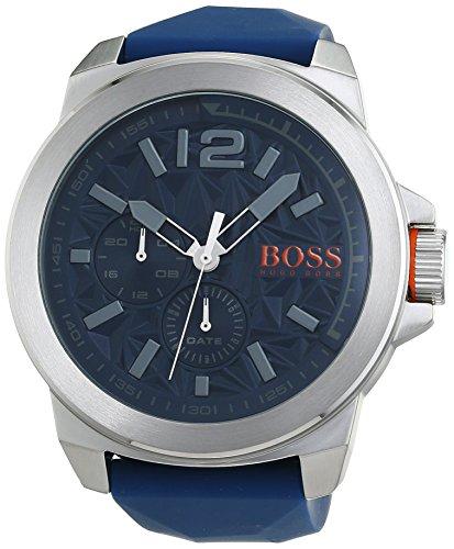 Hugo Boss Orange Reloj Multiesfera para Hombre de Cuarzo con Correa en Caucho 1513348
