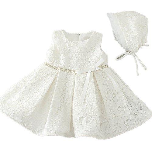 HELLO BABY Baby Mädchen (0-24 Monate) Taufbekleidung elfenbeinfarben 0-6 Monate (Kleinkind Größe Gewand)