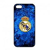 Coque Real Madrid Logo,Coque iPhone 5/5S/SE Real Madrid,TPU Coque pour iPhone 5/5S/SE,Coque iPhone 5/5S/SE Club de Football