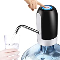 AubeAlba Automatic Wireless Water Can Dispenser Pump for 20 Litre Bottle Can/Portable & Rechargeable Water Bottle Pump…