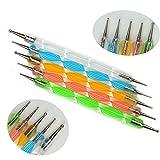 Fashion Galerie Nailart Dotting Tools / Spot Swirl Nageldesign Dotting Pen Punktierung Stift Profi...