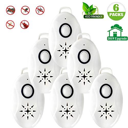 Ultraschall-Schädlingsbekämpfer, tragbarer Outdoor-Moskito-Insektenschutzmittel für Schaben, Spinne, Ameise, Moskito, Maus, Bettwanzen und Flöhe, USB aufgeladen -