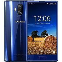 Telephone Portable Debloqué, DOOGEE MIX Lite Smartphone 4G, Écran 5,2 Pouce HD IPS, 2Go RAM 16Go ROM, MT6737 Quad Core, Deux Caméras Arrière 13MP, Double SIM Android 7,0 Empreinte Digitale - Bleu
