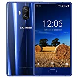 Smartphone Ohne Vertrag Günstig, DOOGEE MIX Lite 4G Dual SIM Handy Android 7.0 mit Fingerabdrucksensor, 5.2 Zoll HD IPS Display, 2GB RAM 16GB ROM, MT6737 Quad Core, Dual 13 MP Hauptkamera - Blau