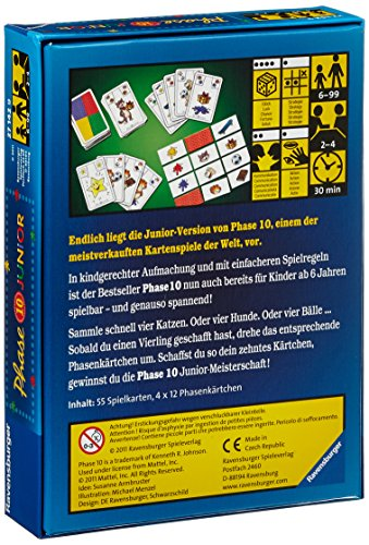Ravensburger-27142-Phase-10-Junior