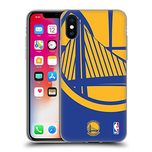 Ufficiale NBA Icona Oversize Golden State Warriors Cover Morbida In Gel Per Apple iPhone 6 / 6s Icona Oversize