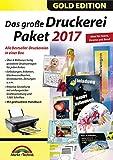 Software - Das große Druckerei Paket 2017 Einladungen, Etiketten, Glückwunschkarten, Visitenkarten, CD/DVD Druckerei - 50.000 ClipArts und 5.000 lizenzfreie Fotos