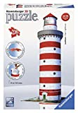 Ravensburger 12555 - Leuchtturm - 216 Teile 3D Puzzle-Bauwerke