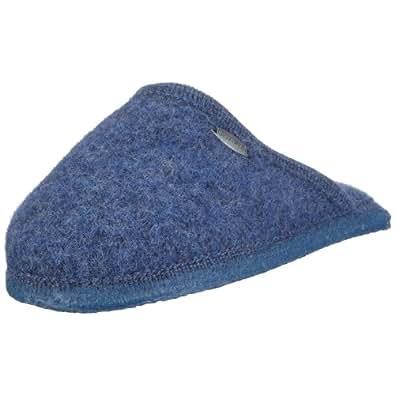 Giesswein 46267 Tino, Unisex - Erwachsene Hausschuhe, Blau (jeans 527), EU 35, (US 4)