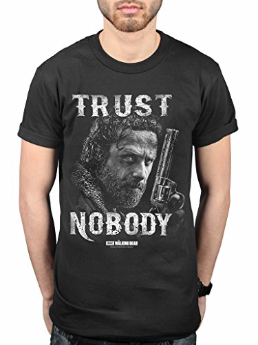 Official The Walking Dead Trust Nobody T-Shirt Zombie -
