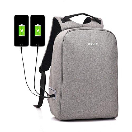 Kigurumi Rucksack mit USB Port Laptop/Notebook Backpack Schultertasche mit Ladeanschluss -