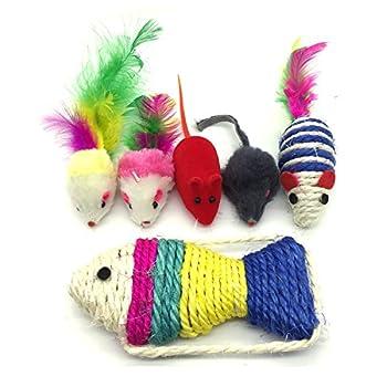 PietyPet Jouets Chat, Jouet pour Chat Animaux Domestiques Toys pour Chat Chaton Minou, 26 Pièces