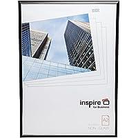 easa2bkp facile Loader marco A2Certificado marco de fotos/fotos/póster en negro con ranura de cristal acrílico