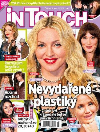 In Touch # 1 - Rock star Madonna - VANESSA PARADIS (1p) - AMBER ROSE (1/2p) - GWEN STEFANI (3p wow) - AMY WINEHOUSE (1/4p) - SHAKIRA (2p) - VANESSA HUDGENS (also partial-cover) - AUDRINA PATRIDGE (2p in bikini) - JENNIE GARTH (4p) - NICKI MINAJ (1/3p) - HELENA BONHAM CARTER (1/3p) - CHERYL COLE (1/2p) - KYLE RICHARDS (1p)