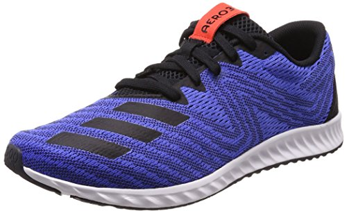 adidas Aerobounce Pr, Scarpe Running Uomo Blu (Hi-res Blue/core Black/hi-res Red)