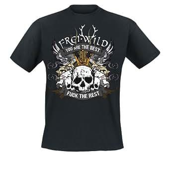 Frei.Wild - Sieger Stehen Da Auf... T-Shirt, schwarz, Grösse 3XL