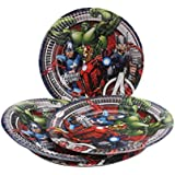 Marvel Avengers Party Paper Plates (9 inches) - Pack of 30