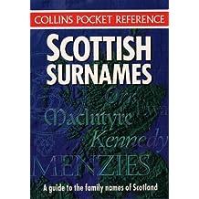 Scottish Surnames (Collins Pocket Reference)