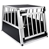 EUGAD 1 X Cage de Transport en Aluminium Boîte pour Transport en Aluminium,Noir...