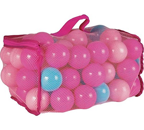 Chad Valley Bag of 100 Pink Plastic Play Balls. [Toy]