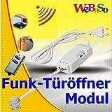 Funk-Türöffnermodul für elektrische Türöffner im Set mit Funk-Schlüsselsender ITK-200 von Intertechno