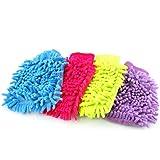 GadgetpoolUK Microfiber Car Kitchen Household Wash Washing Cleaning Glove Mit