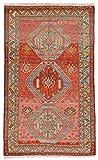 Nain Trading Azerbaidjan Alt 201x125 Orientteppich Teppich Braun/Orange Handgeknüpft Russland