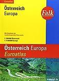 Falk Stadtatlas Euroatlas Österreich, Europa: 1:200000
